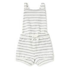 Reverse Stripe Overall  CANVAS  hi-res