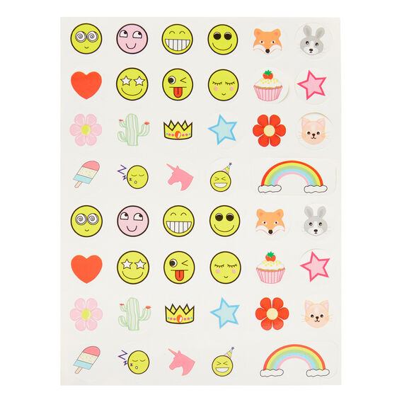 Funny Face Sticker Pack  MULTI  hi-res