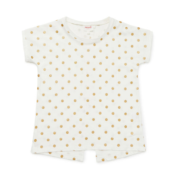 Glitter Spot Tee  CANVAS  hi-res