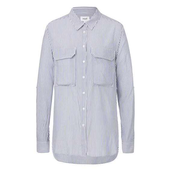 Easy Stripe Shirt  STRIPE  hi-res