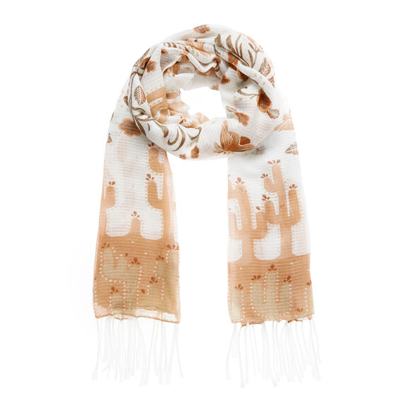 Desert Flower Scarf  MULTI  hi-res