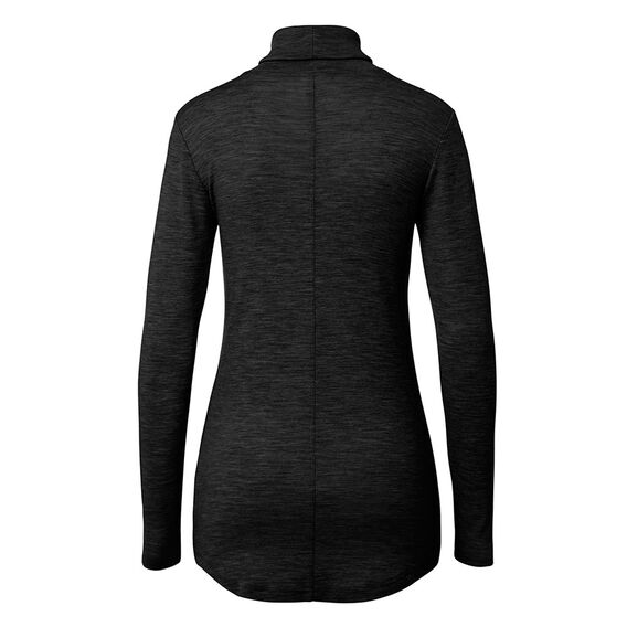 Baby Wool Roll Neck Knit  BLACK  hi-res