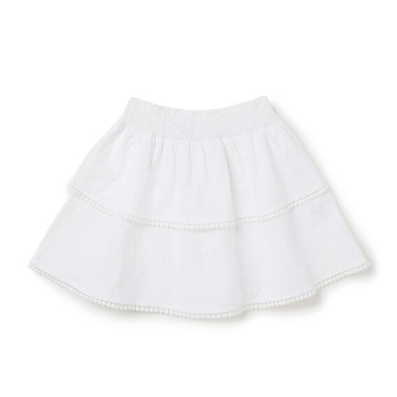 Hailspot Skirt  WHITE  hi-res
