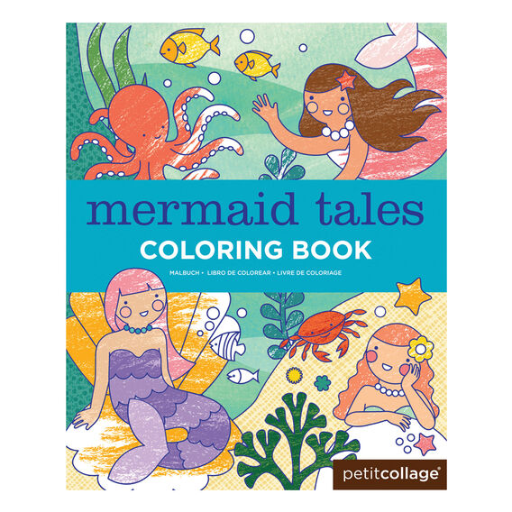 Mermaid Tales Colouring Book  MULTI  hi-res