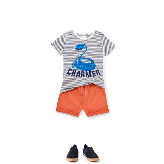 Snake Charmer Tee  MIDNIGHT BLUE  hi-res
