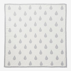Raindrops Knit Blanket  NB CANVAS  hi-res