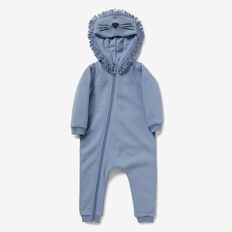 Novelty Lion Jumpsuit  CLOUD BLUE  hi-res