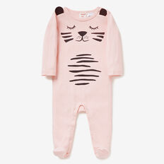 Tiger Jumpsuit  SOFTEST PINK  hi-res