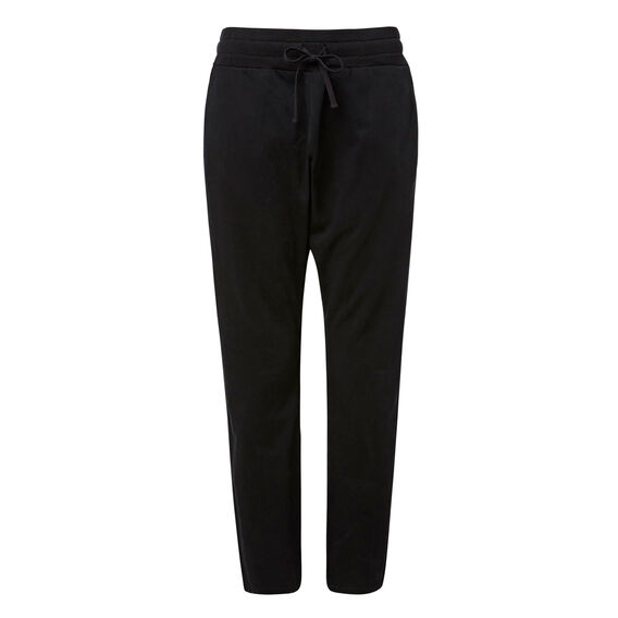 Dropped Harem Pant  BLACK  hi-res