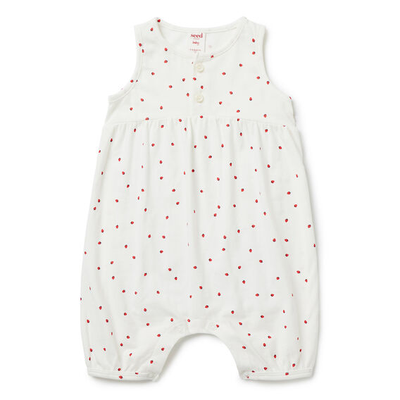 Strawberry Romper  CANVAS  hi-res