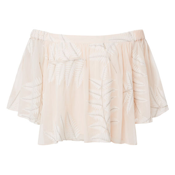 Layered Frill Palm Top  MULTI  hi-res