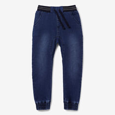 Denim Terry Jogger  INDIGO BLUE WASH  hi-res