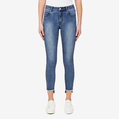 Step Hem Jean  INDIGO WASH  hi-res
