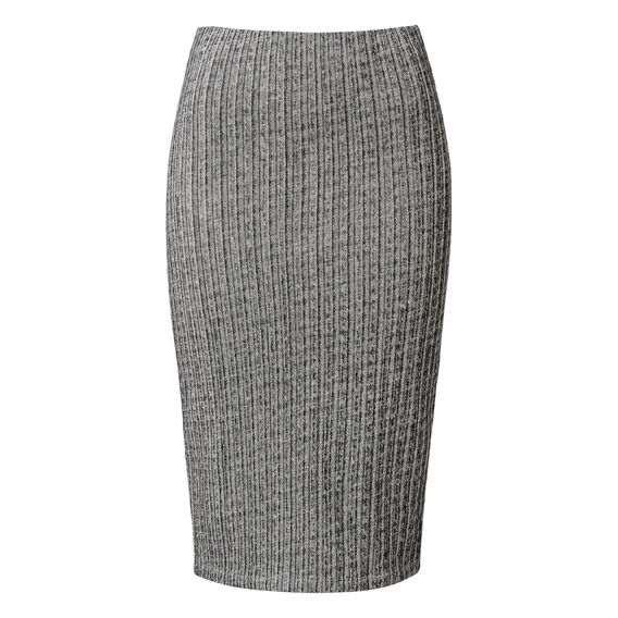 Textured Stretch Skirt  MULTI  hi-res