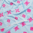 Aztec Embroidery Scarf  VINTAGE CHAMBRAY  hi-res