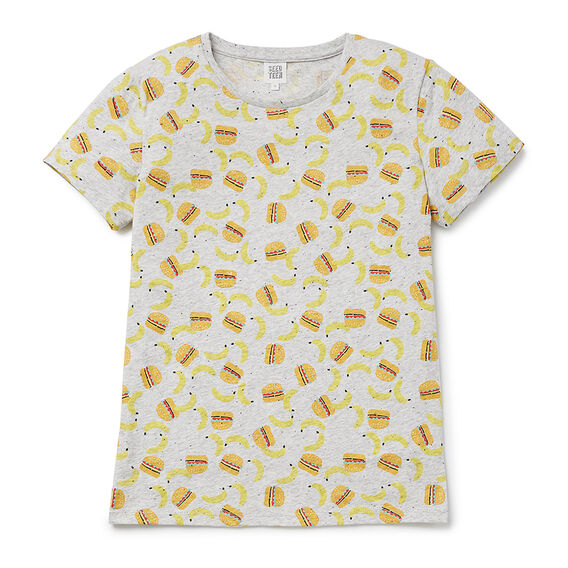 Lunch SS Tee  OVERCAST MARLE  hi-res