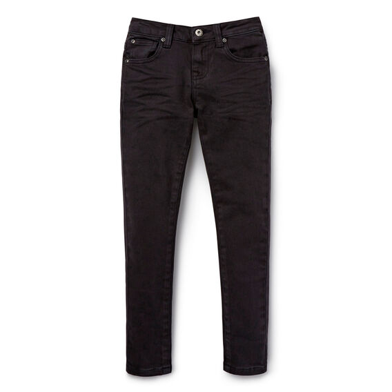 Skinny Jean  WASHED BLACK  hi-res