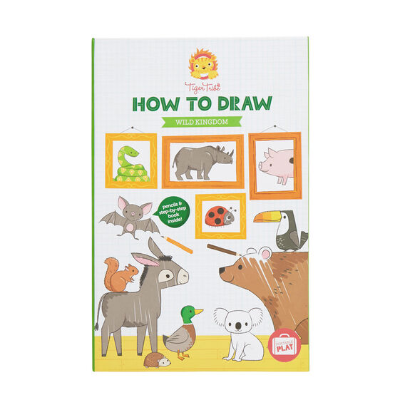 How To Draw Wild Kingdom  MULTI  hi-res