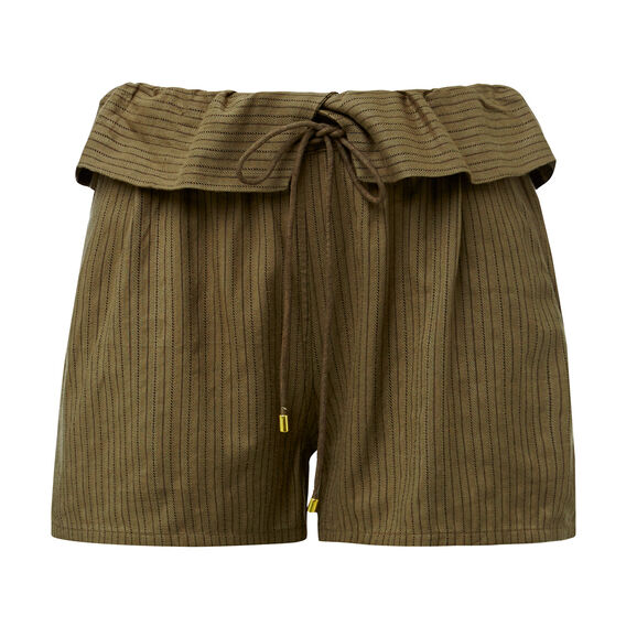 Olive Self Stripe Short  SUMMER OLIVE  hi-res
