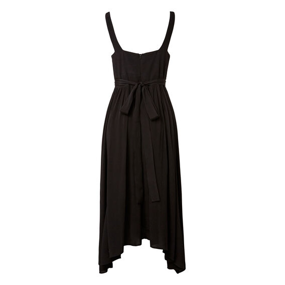 Fit And Flare Dress  BLACK  hi-res