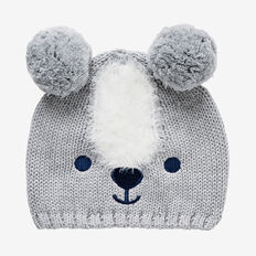Mr Bear Beanie  CEMENT MARLE  hi-res