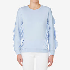 Frilly Sweat  DUTCH BLUE  hi-res