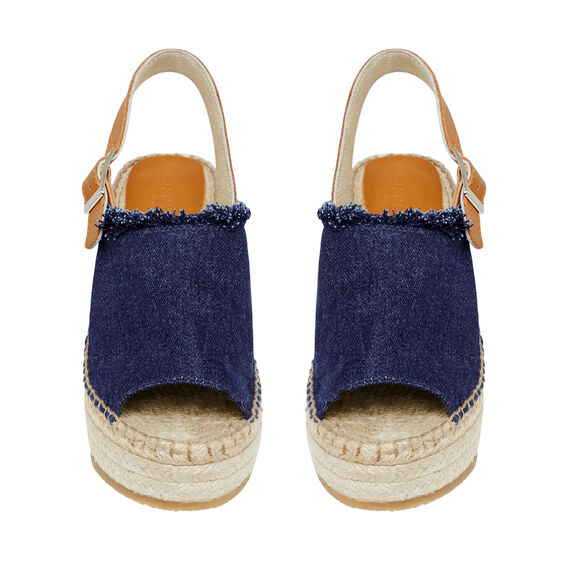 Havana Wedge Espadrille  DENIM  hi-res