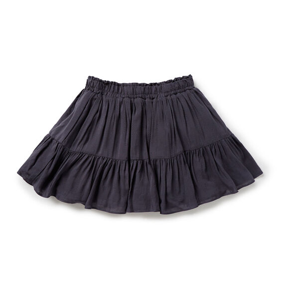 Tiered Skirt  CEMENT GREY  hi-res