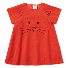 Kitty Cord Dress  APPLE RED  hi-res