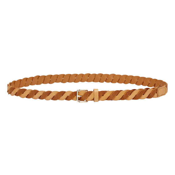 Bell Braided Belt  TAN  hi-res