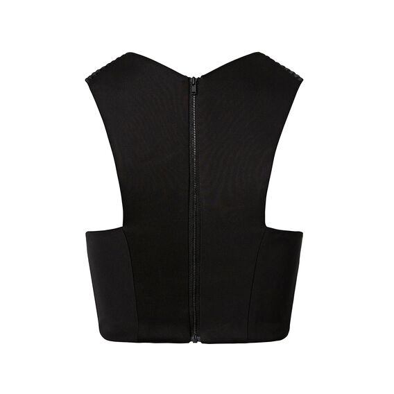 Collection Structured Top  BLACK  hi-res