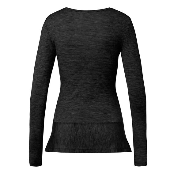 Babywool Peplum Knit  BLACK  hi-res