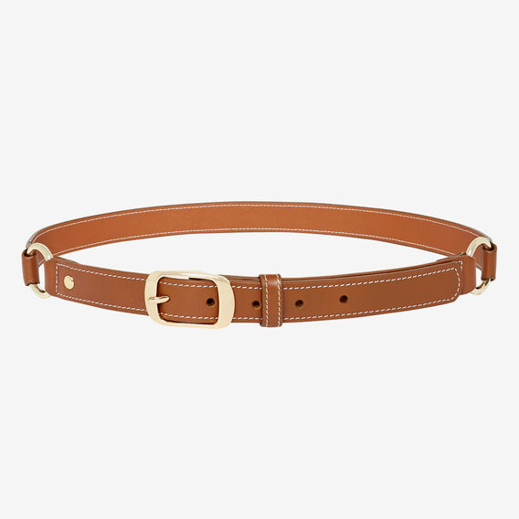 Ring Detail Belt  TAN  hi-res