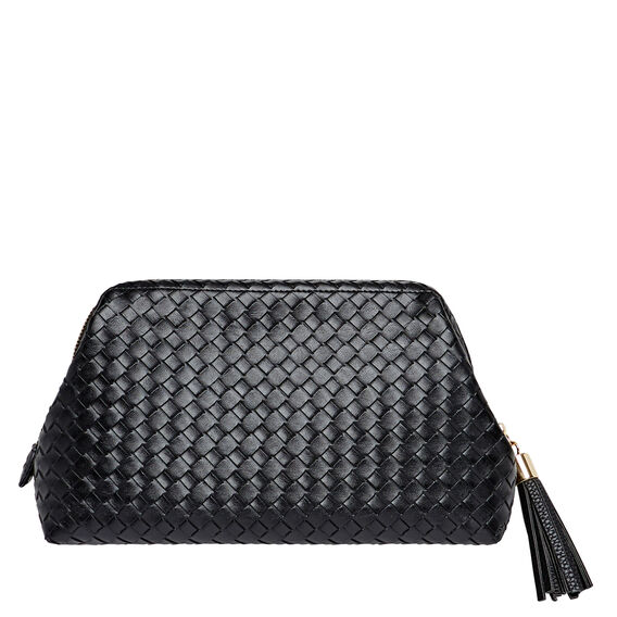 Structured Cosmetic Bag  BLACK  hi-res