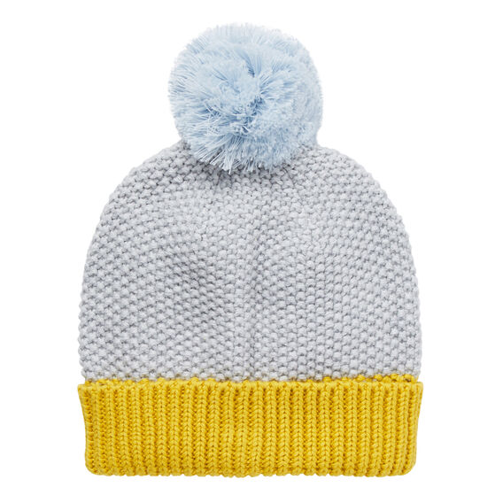 Knit Beanie  SOFTEST BLUE  hi-res