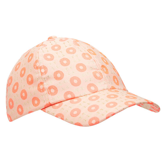 Lolly Loops Cap  CORAL POP  hi-res