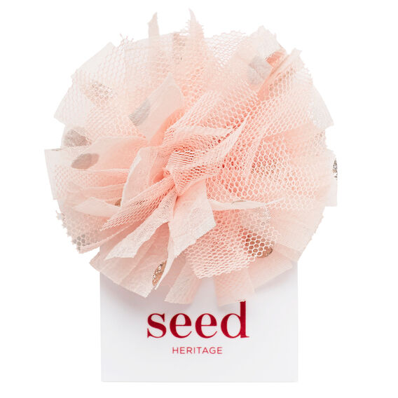 Party Spot Flower Clip  PEACH BLOSSOM  hi-res