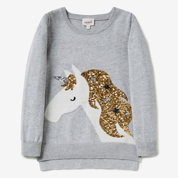Unicorn Sweater  CLOUD  hi-res