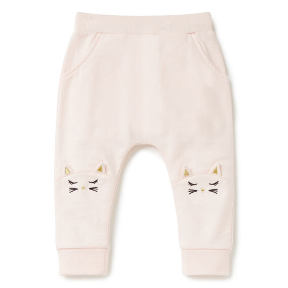Kitty Knee Trackie  SODA PINK  hi-res