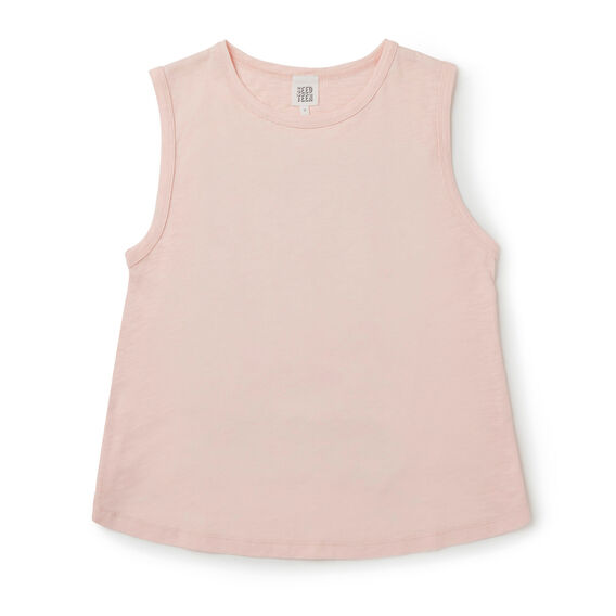 Cross-Back Tank  FUZZY PEACH  hi-res