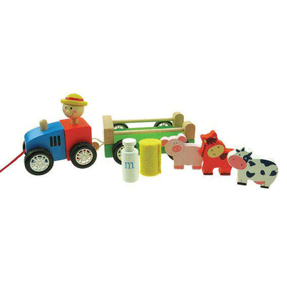 Pull Along Tractor  MULTI  hi-res