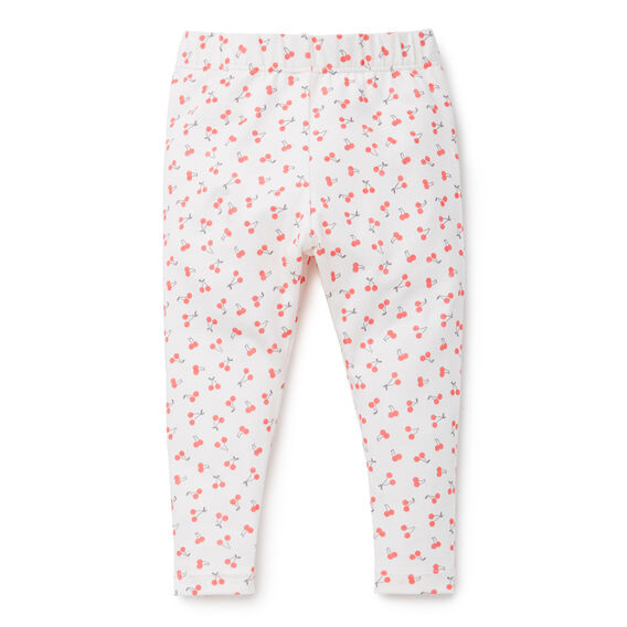 Cherry Print Legging  CANVAS  hi-res