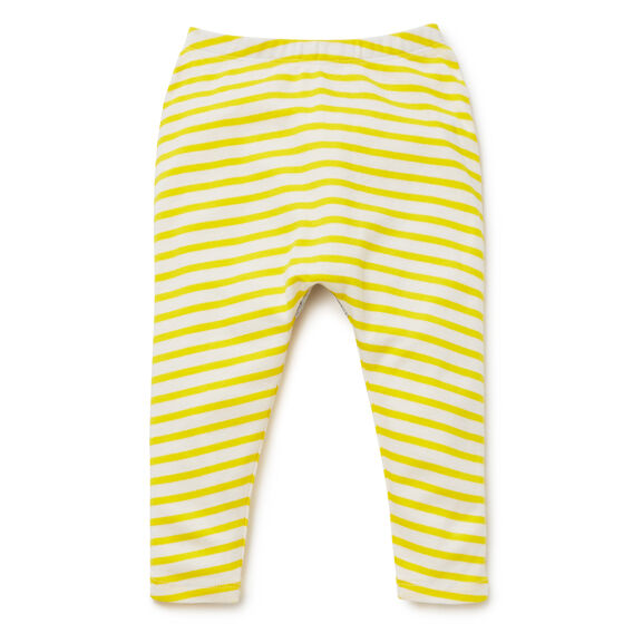Novelty Stripe Legging  SUNSHINE YELLOW  hi-res