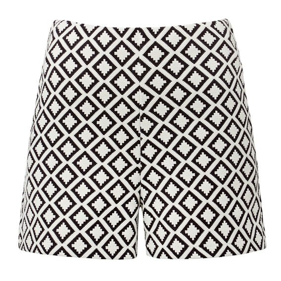 Stretch High Waisted Short  MULTI  hi-res