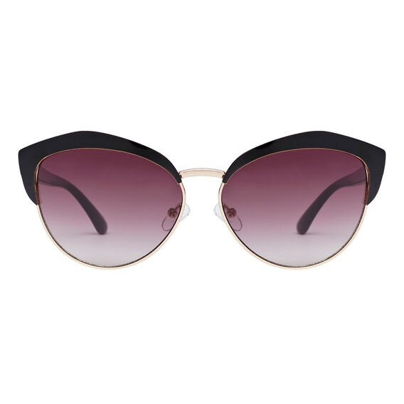 Cats Eye Club Sunglasses  BLACK  hi-res