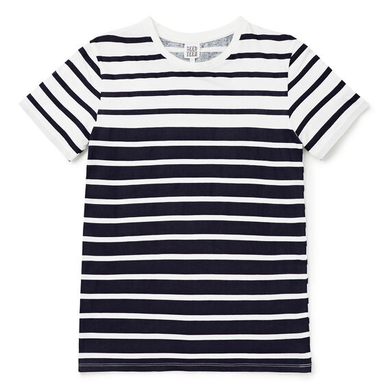 Stripe Tee  MIDNIGHT BLUE  hi-res