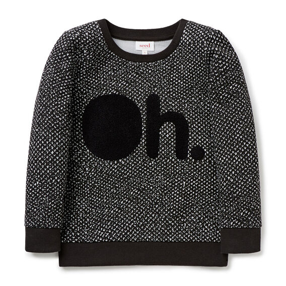 Oh Sweater  VINTAGE BLACK  hi-res