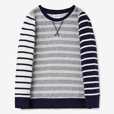 Striped Sweater  MIDNIGHT BLUE  hi-res