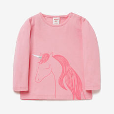 Unicorn Tee  CANDY PINK  hi-res