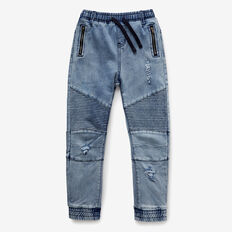 Carrot Denim Terry  VINTAGE LIGHT WASH  hi-res